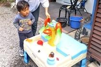 庭で遊ぼう!・水遊び