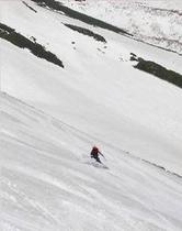 大雪渓山スキー