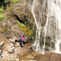 長野県名勝の地『三本滝』
