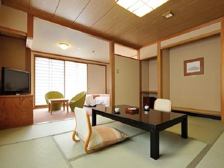 御坂館(禁煙)【コンフォート和洋室】和室10畳+ベッドルーム