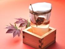 季節限定別注文料理・松茸酒