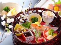 籠盛前菜(一例)