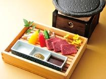 信州産牛肉石焼