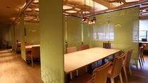 湯端館4階食事処 旬恵ダイニング「幸」・テーブル席