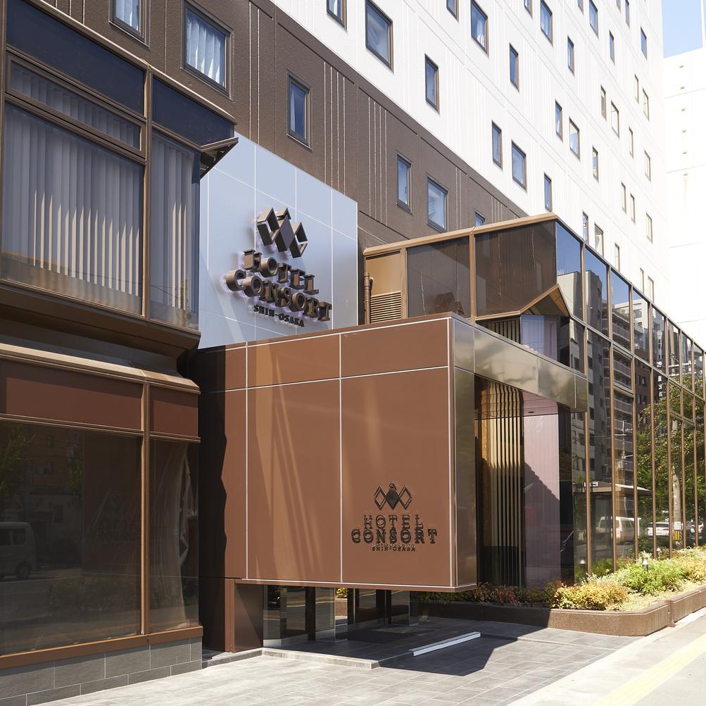 【新大阪からのアクセス・御堂筋線】(3)改札を出て左、横断歩道を渡るとコンソルトです。