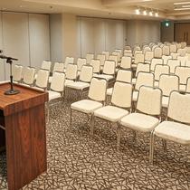 【宴会&会議室】 Etude(エチュード) 146㎡コンソルトで一番大きいお部屋です。