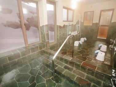 冬 浴室全体