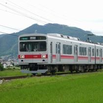 塩田平を走る1000系◆別所線◆