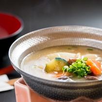 ◆朝食◆具沢山のお味噌汁