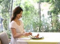 レストラン朝食風景