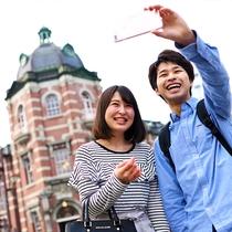 【岩手銀行赤レンガ館】レトロな建物と記念にパシャリ☆歴史ある建物は無料の見学スペースもあり◎
