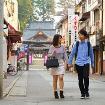 【桜山神社】景色豊かな盛岡の観光スポット♪当館から歩いてすぐのパワースポット!