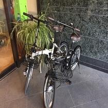 貸出自転車(3台)