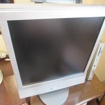 全室に液晶テレビを搭載してます!