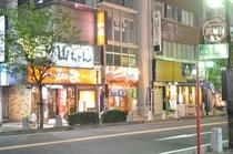 東岡崎駅北口飲食街2