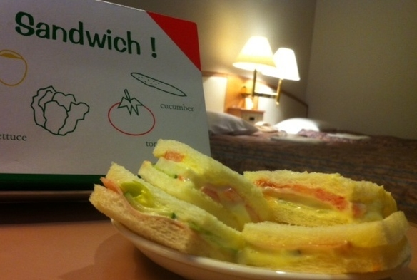 【◎佐世保名物◎】☆ラビアンローズのサンドイッチ☆付プラン ◆朝食バイキング付◆