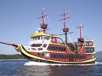 九十九島遊覧 海賊船「みらい」