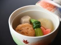 和食堂「鞆の浦」朝食イメージ 焚き合わせ