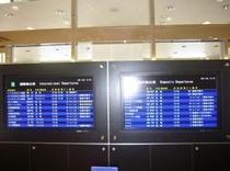 フライト時刻表
