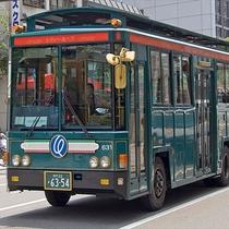 シティーループバスに乗って市内を観光!