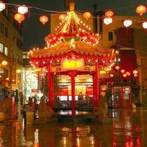 夜の南京町はノスタルジック♪