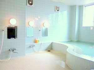 ゆったりすごせる浴場で1日の疲れをいやしてください♪