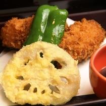 料理_夕食単品 カキフライ