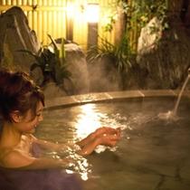 貸切露天風呂「花の湯」