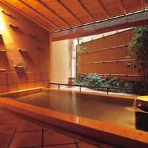 貸切露天風呂 浅葱(木造)