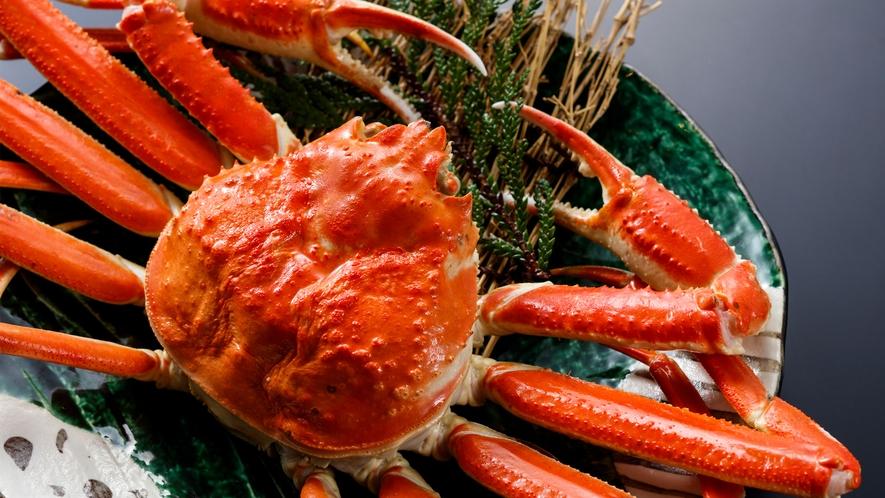旬の味覚会席 冬のズワイ蟹 イメージ