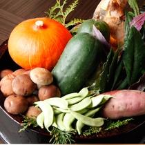 地元加賀の野菜