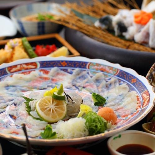 長崎県戸石産「ふぐづくし会席」河豚を思い存分食す!感動の会席です