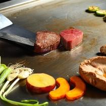 【鉄板焼】美味を五感で堪能してください