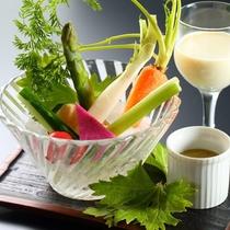 夏野菜のバーニャカウダー