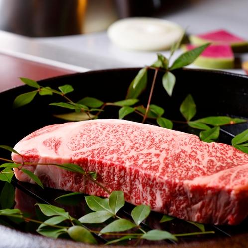 鉄板焼き「長崎和牛」