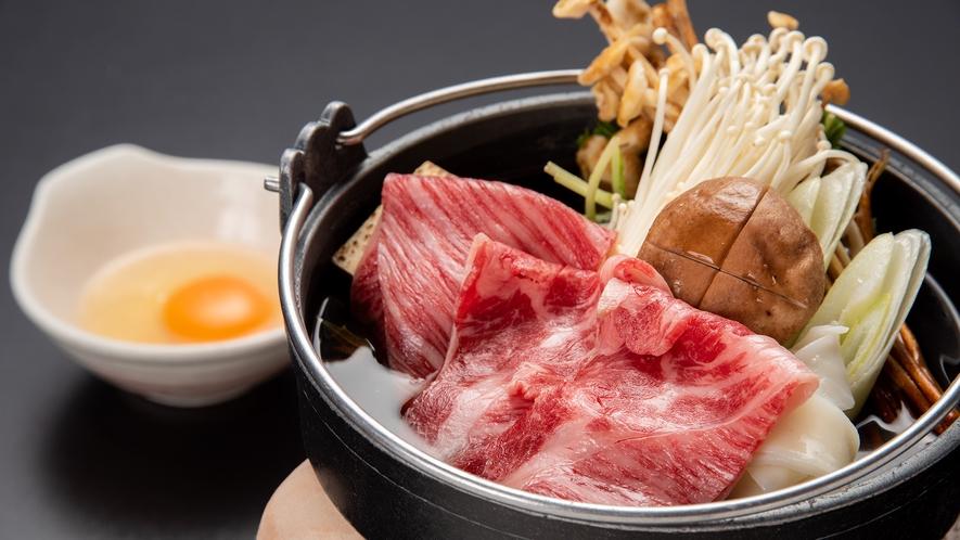 *【夕食一例】上州牛のすき焼き