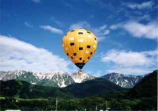 【白馬・夏】熱気球