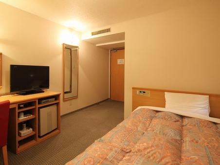 【きつ煙シングルE】モダンな部屋ベッド幅140cm