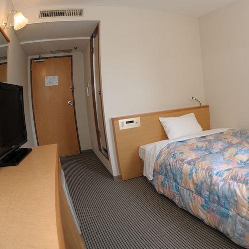 【シングルE】モダンなお部屋(14m2ベッド幅140cm1台)