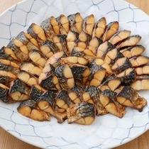 朝食-焼き魚