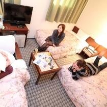 【女子旅】お部屋でリラックス