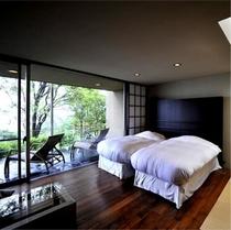 森の平屋棟 客室