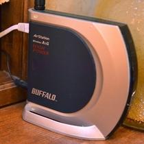*Wi-Fi無線LAN完備!いつでもどこでもメール、インターネットつながります。