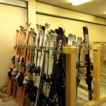 *スキー乾燥室
