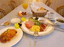 朝食、飲み物パン、食べ放題
