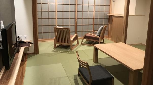 【きつ煙】モダン和室10畳!トイレ・シャワー付(34平米)