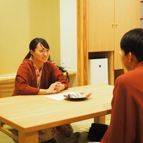 【本館4階和室】リニューアルの客室で仲良く語り合いましょう♪