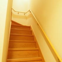 【別館さくら】お風呂とお食事部屋へは階段を利用するメゾネットタイプです。