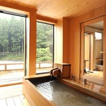 【別館さくら】お風呂の外にはテラスがございます!