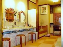 温泉浴場 脱衣室(女湯)